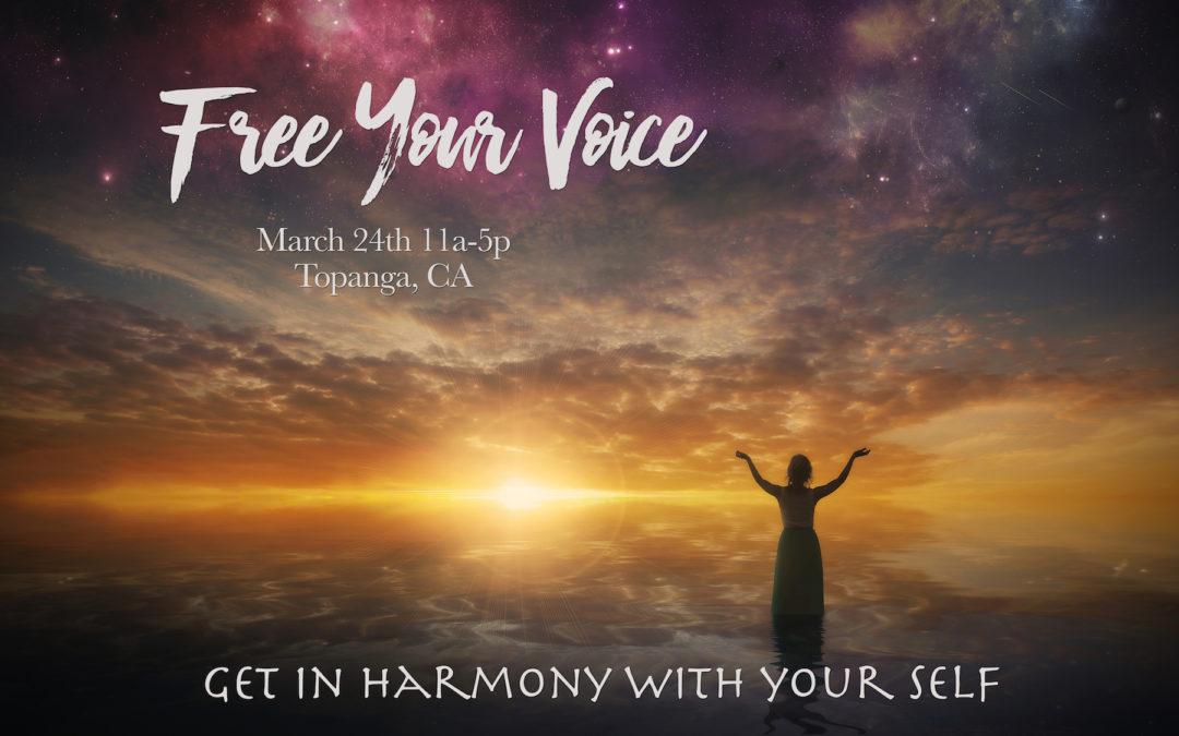 Yoga of Voice & Vibration : Free Your Voice!